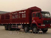 Sida Steyr ZZ5311CLXN4661C грузовик с решетчатым тент-каркасом