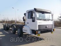 Belt conveyor truck chassis