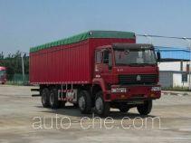 斯达-斯太尔牌ZZ5311XXBM4661C1H型篷式运输车