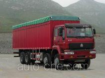 斯达-斯太尔牌ZZ5311XXBN4661C1型篷式运输车