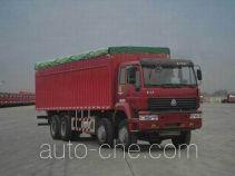 Sida Steyr ZZ5311XXBN4661C1H soft top box van truck