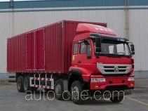 斯达-斯太尔牌ZZ5311XXYN476GD1型厢式运输车