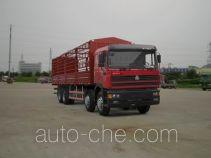 Sida Steyr ZZ5313CLXM4661C1 грузовик с решетчатым тент-каркасом