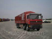 Sida Steyr ZZ5313CLXN3861C1 грузовик с решетчатым тент-каркасом