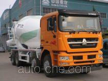 斯达-斯太尔牌ZZ5313GJBN3861D1型混凝土搅拌运输车