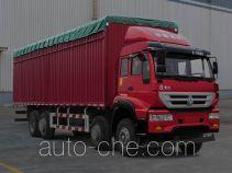 Huanghe ZZ5314CPYK46G6D1 soft top box van truck