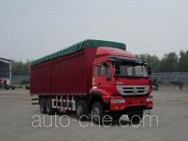 Huanghe ZZ5314CPYK4766C1 soft top box van truck