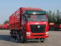 Sinotruk Hohan ZZ5315CCYN4666D1 stake truck