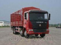 豪运牌ZZ5315CLXM4665C1型仓栅式运输车