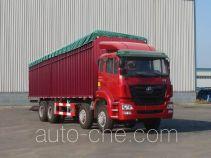Sinotruk Hohan ZZ5315CPYK3863C1 soft top box van truck
