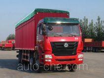Sinotruk Hohan ZZ5315CPYN4666C1 soft top box van truck