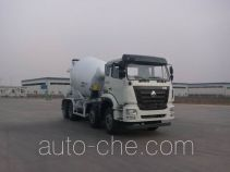 豪瀚牌ZZ5315GJBM3063D1型混凝土搅拌运输车