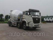 豪瀚牌ZZ5315GJBN3063E1型混凝土搅拌运输车