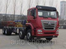 Sinotruk Hohan ZZ5315JSQN4263E1 truck mounted loader crane chassis