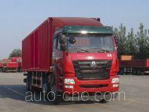 豪瀚牌ZZ5315XXYM4663D1型厢式运输车