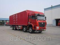豪瀚牌ZZ5315XXYM4663E1L型厢式运输车