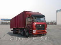 豪瀚牌ZZ5315XXYN4663D1型厢式运输车