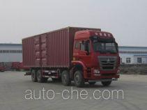 豪瀚牌ZZ5315XXYN4666E1型厢式运输车
