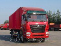 豪瀚牌ZZ5315XXYN4666E1L型厢式运输车