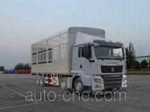 汕德卡牌ZZ5316CCYM466GD1型仓栅式运输车