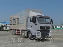 汕德卡牌ZZ5316CCYN386GD1型仓栅式运输车
