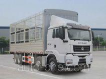 汕德卡牌ZZ5316CCYN386MD1型仓栅式运输车