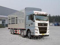汕德卡牌ZZ5316CCYV466HE1型仓栅式运输车