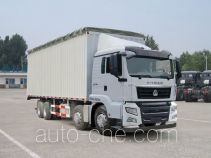 Sinotruk Sitrak ZZ5316CPYN386GD1 soft top box van truck