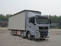 Sinotruk Sitrak ZZ5316CPYN466GD1 soft top box van truck