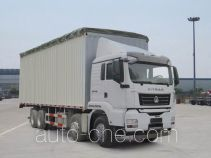 Sinotruk Sitrak ZZ5316CPYN466MD1 soft top box van truck
