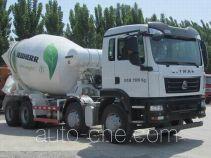 汕德卡牌ZZ5316GJBN306GD1型混凝土搅拌运输车