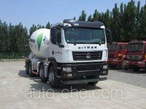 汕德卡牌ZZ5316GJBN306GE1型混凝土搅拌运输车