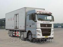 汕德卡牌ZZ5316XLCV466HE1型冷藏车