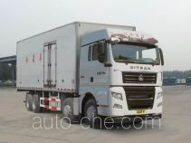 Sinotruk Sitrak ZZ5316XLCV466HE1 refrigerated truck