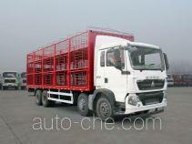 豪沃牌ZZ5317CCQN466GD1型畜禽运输车