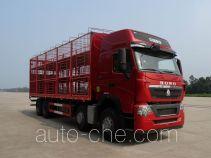 豪沃牌ZZ5317CCQV466HE1型畜禽运输车