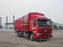 豪沃牌ZZ5317CCYM3867D1H型仓栅式运输车
