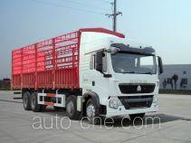 豪沃牌ZZ5317CCYM386GD1型仓栅式运输车