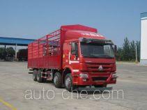 豪沃牌ZZ5317CCYM4667D1B型仓栅式运输车