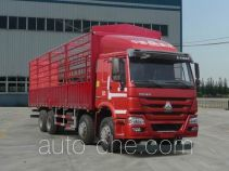 豪沃牌ZZ5317CCYM4667D1H型仓栅式运输车