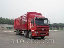 豪沃牌ZZ5317CCYN3867D1B型仓栅式运输车