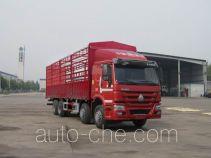 豪沃牌ZZ5317CCYN3867D1H型仓栅式运输车