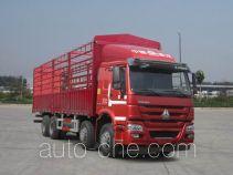 豪沃牌ZZ5317CCYN3867E1LH型仓栅式运输车