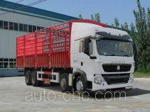 豪沃牌ZZ5317CCYN386GD1型仓栅式运输车