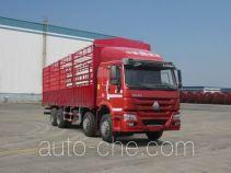 豪沃牌ZZ5317CCYN4667D1B型仓栅式运输车