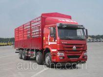 豪沃牌ZZ5317CCYN4667E1LH型仓栅式运输车