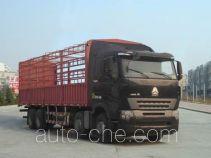 豪沃牌ZZ5317CCYN4667Q1LH型仓栅式运输车