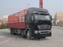 汕德卡牌ZZ5317CCYN466HC1型仓栅式运输车