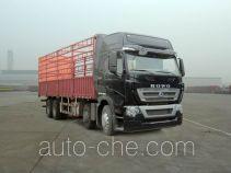 豪沃牌ZZ5317CCYN466MD1B型仓栅式运输车