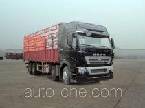 豪沃牌ZZ5317CCYN466MD1H型仓栅式运输车